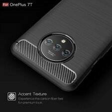 For OnePlus 7T Pro Shockproof Silicone Slim Hybrid Back Case Soft Bumper Cover