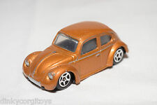 CORGI TOYS JUNIORS JUNIOR VW VOLKSWAGEN BEETLE CLASSIC MET. BROWN EXCELLENT