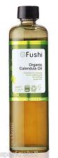 Fushi Cold Pressed 100% Pure Organic CALENDULA OIL Soothing Skin Oil 100ml