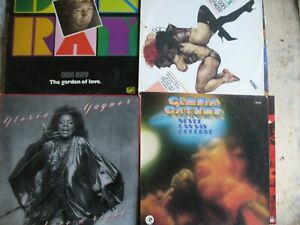 "Lot de 10 lp ""Funk/Disco"" G.Gaynor / frankie goes to hollywood/ceronne"