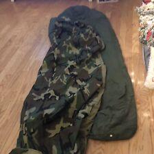 US Military 2Pc MSS Modular Sleeping Bag Sleep System GoreTex Bivy Cover Patrol