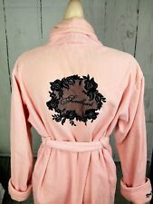 VICTORIA'S SECRET VINTAGE TERRY ROBE LIGHT PINK SIZE XS/S SPA LUXURY SHOWER BATH