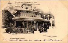 CPA PARIS EXPO 1900 - Trocadéro La Goadeloupe (308223)