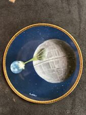 More details for starwars death star hamilton certified ltd ed plate by sonia hillios #70