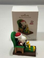 New Listing2011 Hallmark Keepsake Ornament Snoopy Claus The Peanuts Gang