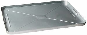Oil Drip Pan Galvanized Tray Metal Large For Under Car Garage Floors Automotive