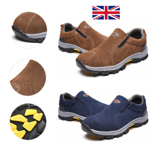 Men Steel Toe Cap Saftey Protective Shoes Lightweight Working Trainers Boots A1