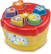 Vtech SORT & DISCOVER DRUM Educational Preschool Young Child Toy BN