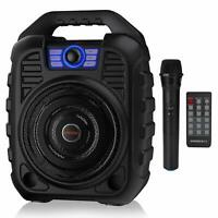 EARISE T26 Portable PA Speaker Karaoke System Bluetooth + Wireless Microphone