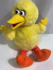 TYCO 1996 SESAME STREET 16 INCH SOFT PLUSH TALK & COUNT BIG BIRD