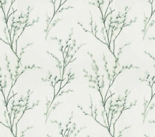 Laura Ashley Pussy Willow Pale Sage Wallpaper. Batch Number May Vary😊