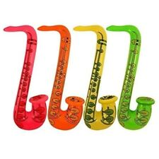 8 Inflatable Saxophone Fancy Dress Accessories Hen Party Bag Fillers Loot Goody
