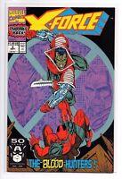 X-FORCE #2, 2nd full DEADPOOL! Rob Liefeld, Marvel Comics 1991 - NM- 9.2