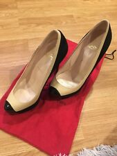 Christian Louboutin Mago 140 Suede/Nappa/Patent - 37