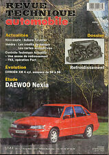 RTA revue technique l'expert automobile n° 605 DAEWOO NEXIA