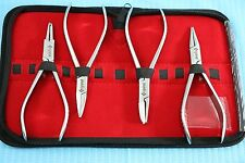 New Or Grade Set Of 4 Each Optician Optical Plierseyeglasses Tool Set