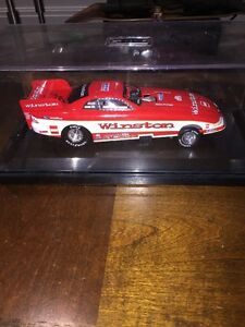 Whit Bazemore 1997  NHRA Funny Car Mustang 1/24 Action Base Cover New
