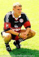 Alexander Zickler Bayern München 97-98 seltenes Foto+2