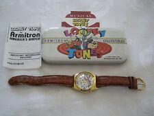 Looney Tunes Taz Warner Bros Tasmanian Devil Musical UNISEX Watch