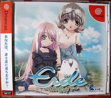 "SEGA Dreamcast DC ""ERDE - NEZU NO IZUKI NO SHITA DE"" AVG Free Shipping"
