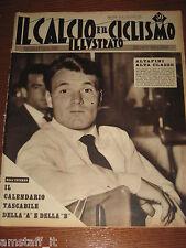 IL CALCIO E CICLISMO ILLUSTRATO 1959/35=ALTAFINI=CALENDARI SERIE A/B=