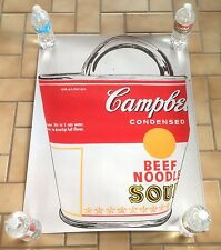 Andy Warhol Pop Art Soup Can Bag German Lithograph Limited Edition OOP Rare New