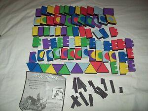 Magic Shapes Magnetic Set Children's Building toy 106 pieces