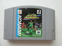 NINTENDO 64 J League Perfect Striker cartridge only Free Shipping Japan