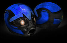 Optimus Prime Helmet Cover Transformers Motorcycle Full Face Skin Sport Bike +