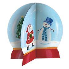 Phoenix Trading Christmas Cards - XK35 Snow globe 3D