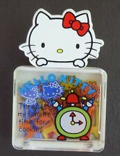 Vintage Hello Kitty Sm. Box with Colorful Kitty Paper Clips 1976 Sanrio