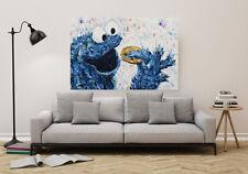 Freund der Kekse, Kunstdruck 120 x 80 - Pop Art Print / Leinwand