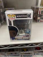 Lamar Jackson (Baltimore Ravens) NFL Funko Pop! Series 6 With Protector