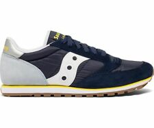 Saucony Originals Men's Jazz Low Pro Sneaker Blue/Light Blue/Yellow Size 7.5