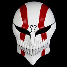 Red Resin Bleach Ichigo Kurosaki Full Hollow Cosplay Mask