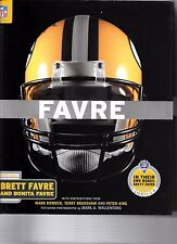 BRETT FAVRE GREEN BAY PACKERS DVD INCLUDED BONITA FAVRE SUPERBOWL NFL FOOTBALL