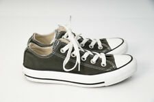 Converse All Star Mens US 3 Womens 5 Chuck Taylor Shoes Sneakers Army Green
