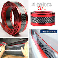 1M Car Sticker Carbon Fiber Rubber Door Sill Protector Edge Guard Strip 5cm/7cm