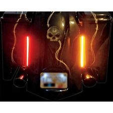 "Custom Dynamics 8"" Pair Plasma Rods for Harley Davidson Bagger Tail Lights"