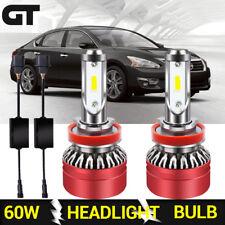 LED Headlight Car Bulb H11 Fog Lamp Kit for Nissan Altima 2005-2006/2009/2014-15