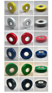 Electrical PVC Insulation Tape 12mm x 33 Metres Flame Retardant All Colours