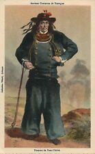 Homme de Pont l Abbe Anciens Costumes Bretons French France Folklore Fashion