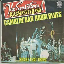 ALEX HARVEY BAND Gamblin bar room blues FRENCH SINGLE VERTIGO 1975