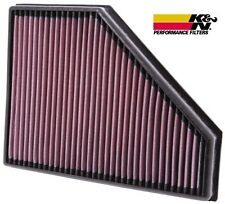 K&N Filtro Aria Sportivo 100% Cotone BMW Serie3 E90 E92 318d 320d 325d 330d 335d