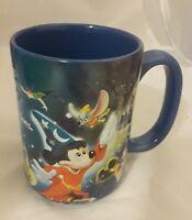 Disney Parks Mickey Mouse Tea Coffee Ceramic Cup Mug Where Magic Lives Blue