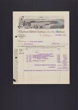 BETTRUM, Rechnung 1926, Konserven-Fabrik Bettrum eGmbH