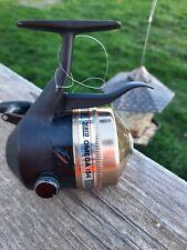 Vintage Zebco Omega 154 Trigger spin. Gold Color. Left hand retrieve.