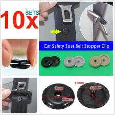 10Pair Universal Clip Seat Belt Stopper Buckle Button Fastener Safety Car Part G