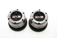 AVM419 Manual Free Wheeling Hubs x2 For Toyota Landcruiser 40 Series (9/75-9/85)