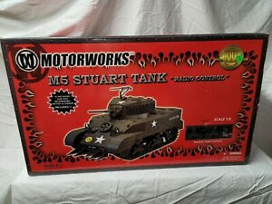 Ultimate Soldier M5 Stuart Tank MotorWorks 1/6th Radio Controlled - New In Box
